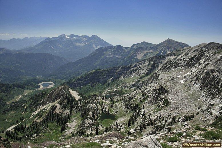 Hiking in Utah\'s Wasatch Mountains