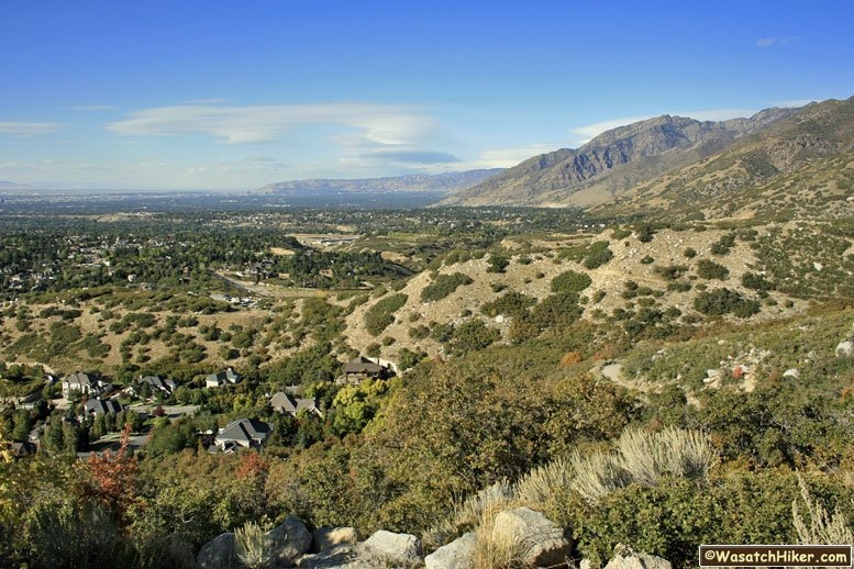 Hiking in Utah\'s Wasatch Mountains